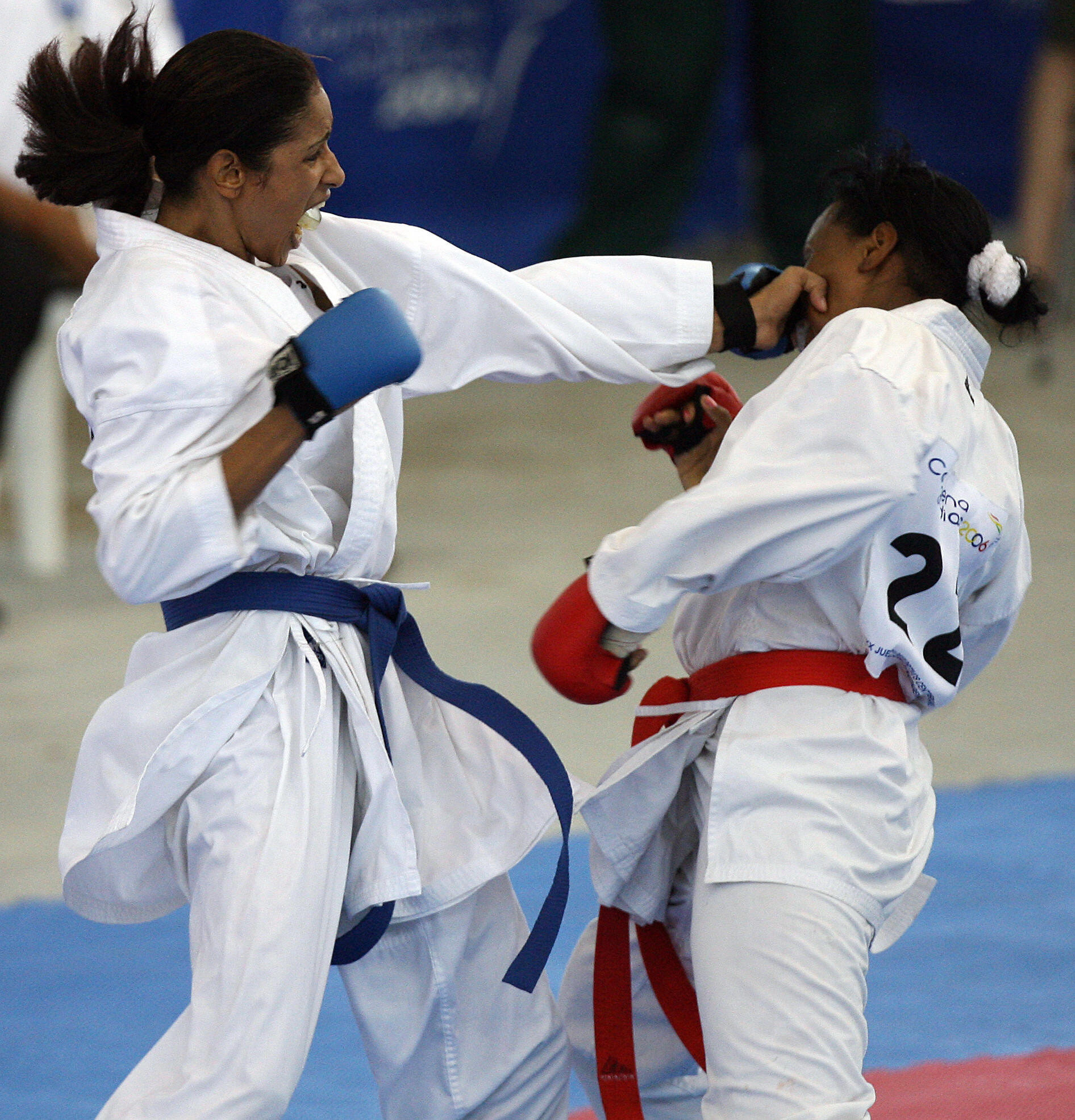 Fans of karate have been asked to submit their best tsuki punches ©Getty Images