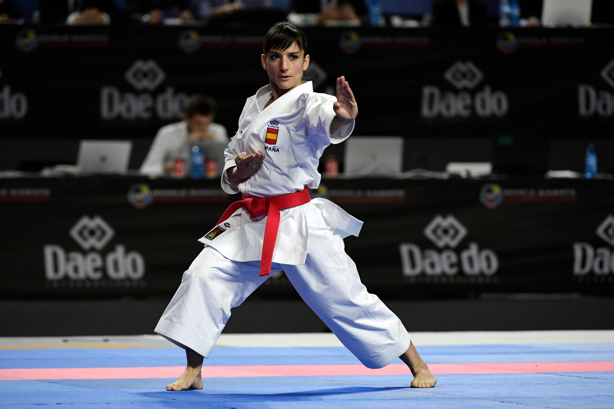 Karate was dropped from the Paris 2024 programme before its Olympic debut at Tokyo 2020 ©Getty Images