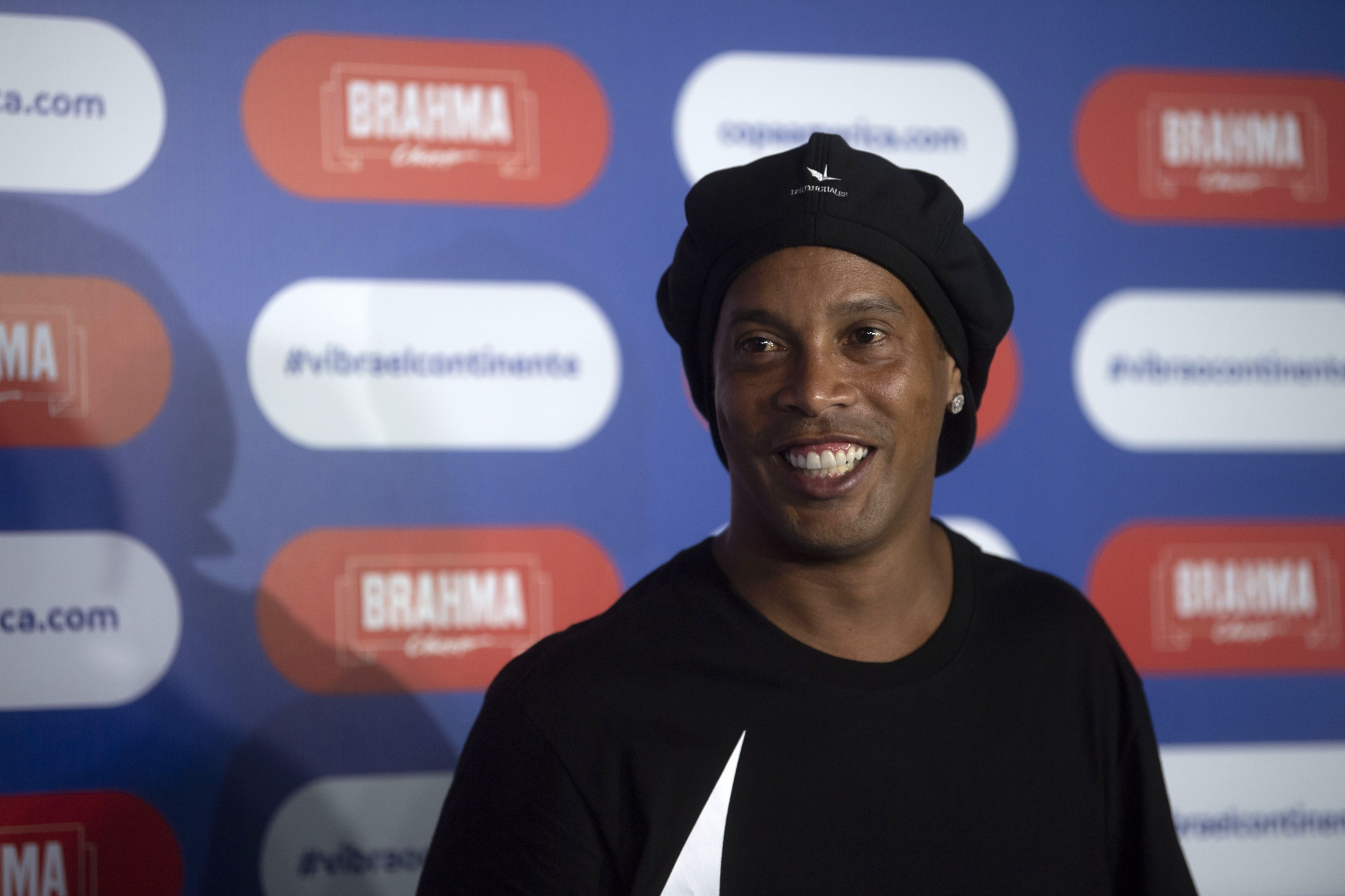 Retired footballing icon Ronaldinho has become a formal partner of emerging sport teqball ©Getty Images