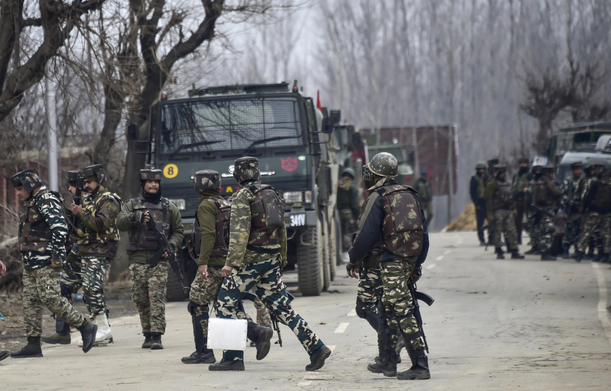 Tensions between India and Pakistan have soared since a deadly suicide bombing in Indian controlled Kashmir earlier this month ©Getty Images