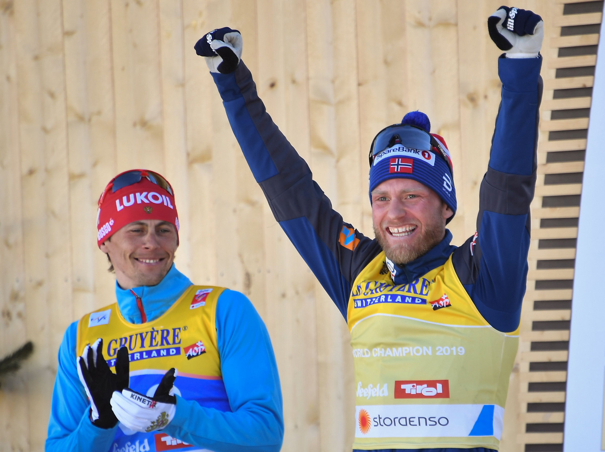 Sundby wins men's 15km cross-country gold as police raid overshadows World Nordic Skiing Championships
