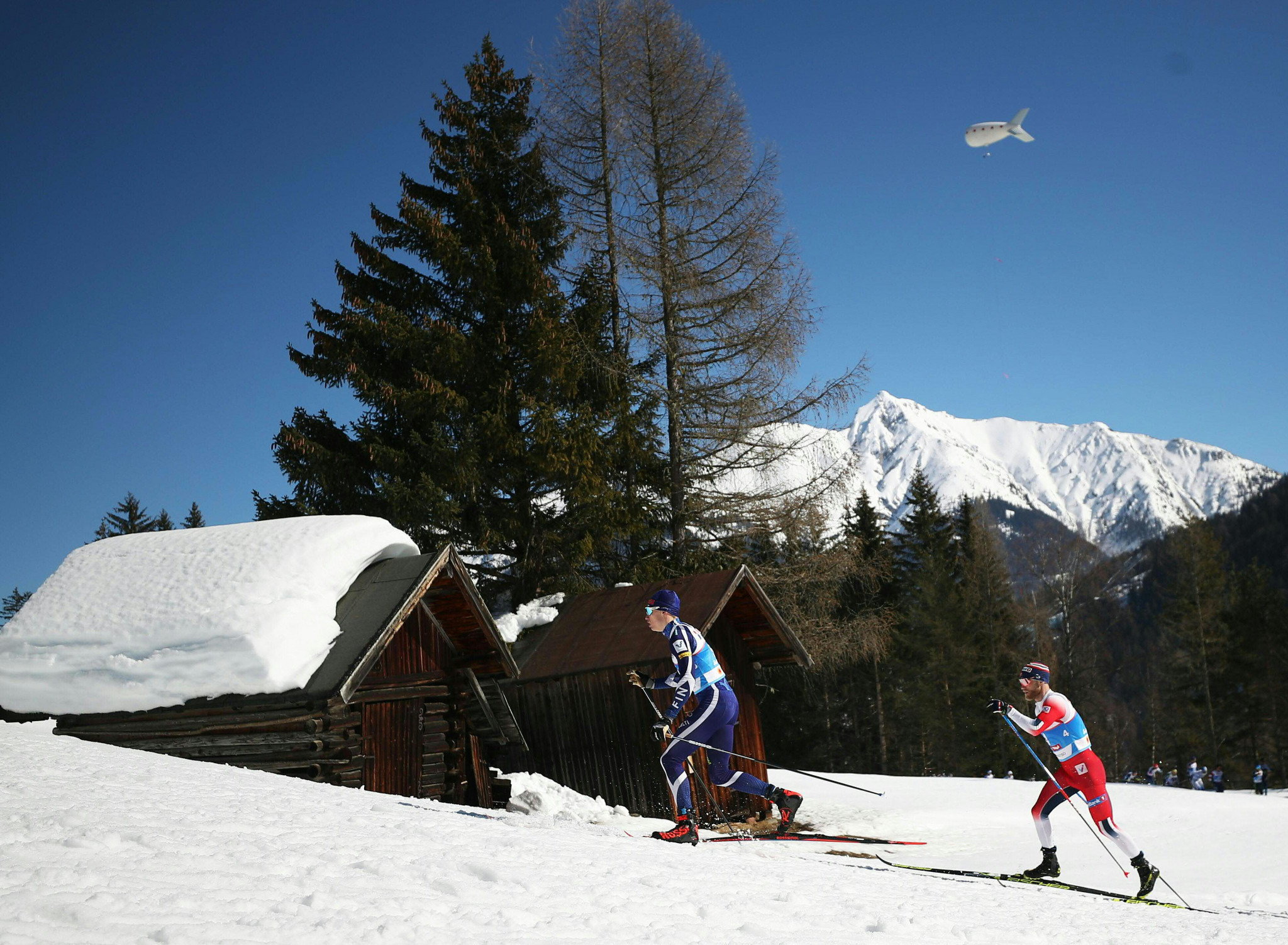 Finland's Livo Niskanen, centre, finished third ©Getty Images