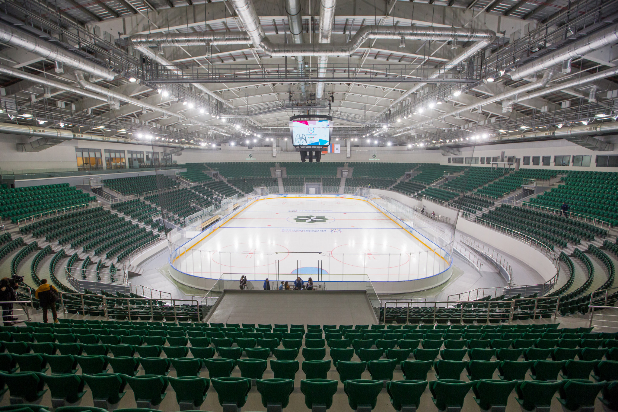 The Krasnoyarsk 2019 Winter Universiade figure skating competition will take place at the Platinum Arena ©Krasnoyarsk 2019