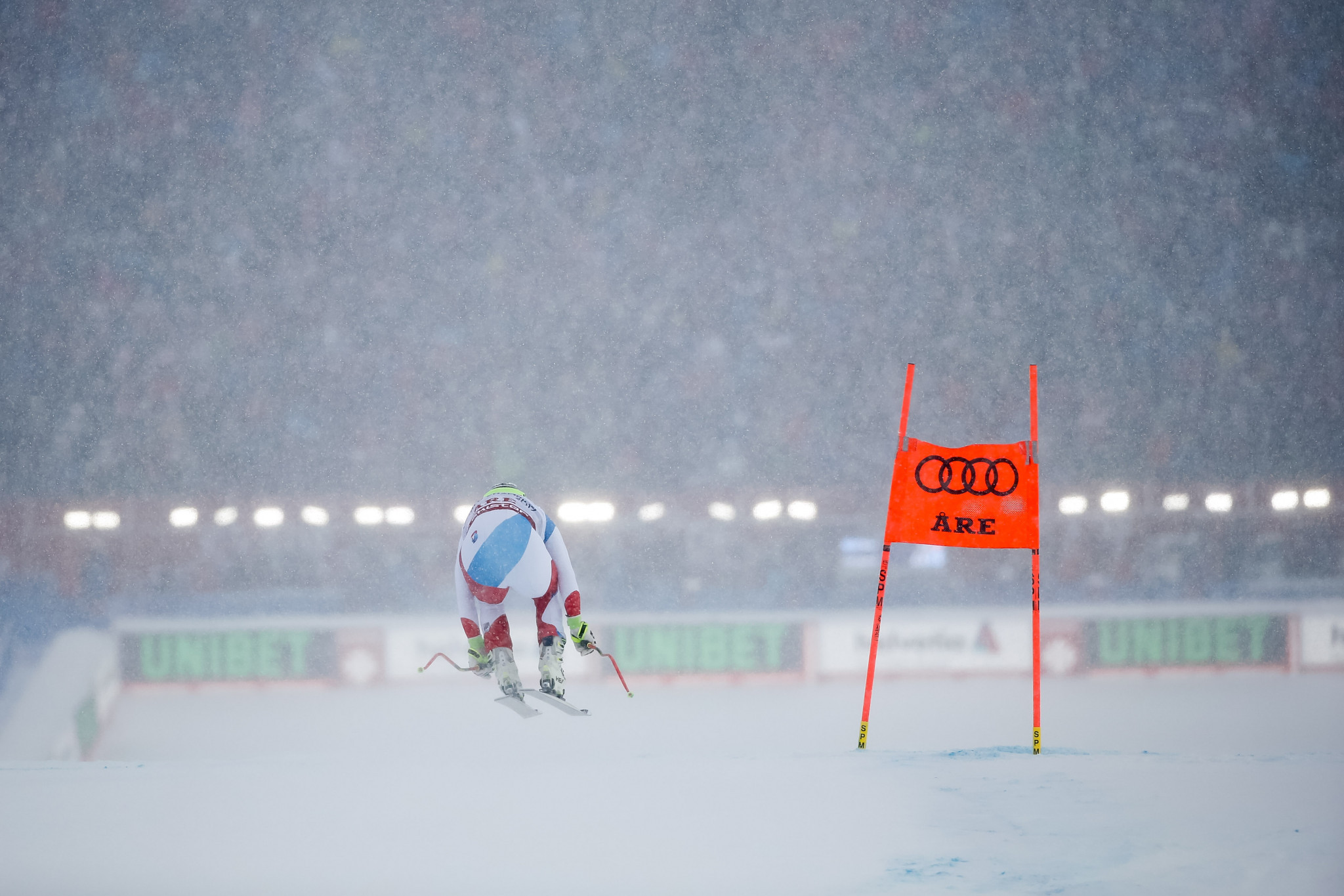 Switzerland's Beat Feuz will hope to extend his lead in the downhill FIS Alpine Skiing World Cup ©Getty Images