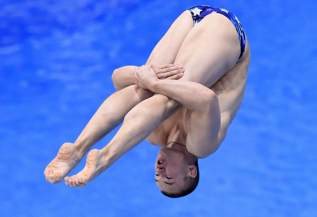 Kuznetsov earns FINA World Diving Series gold while China's dominance continues in London