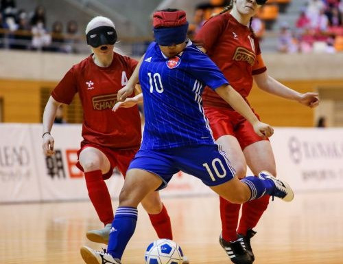 Official blind football tournaments for women could be held as early as next year ©JBFA