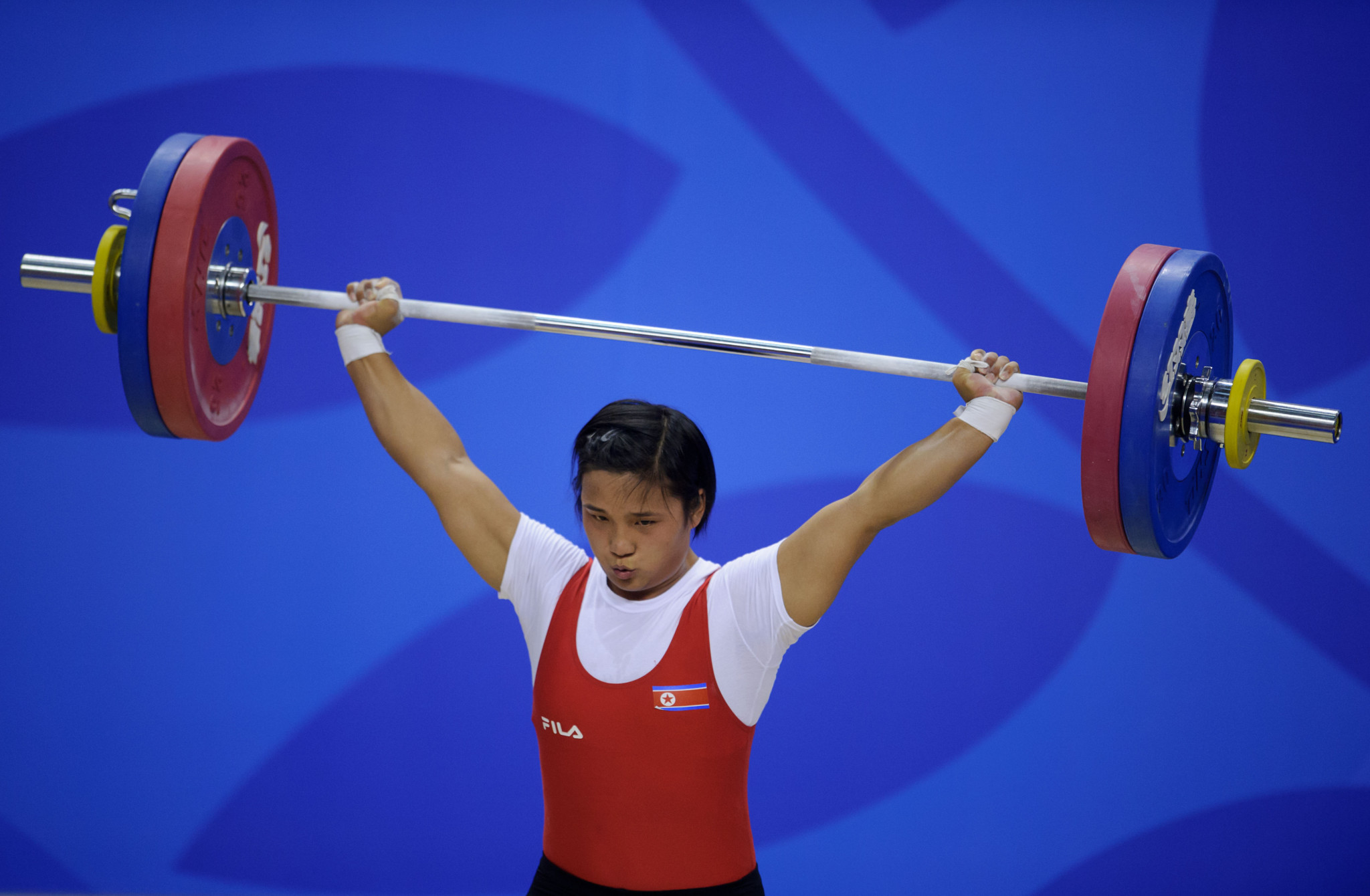 North Korea's Kim Un Ju reversed the World Championship result ©Getty Images