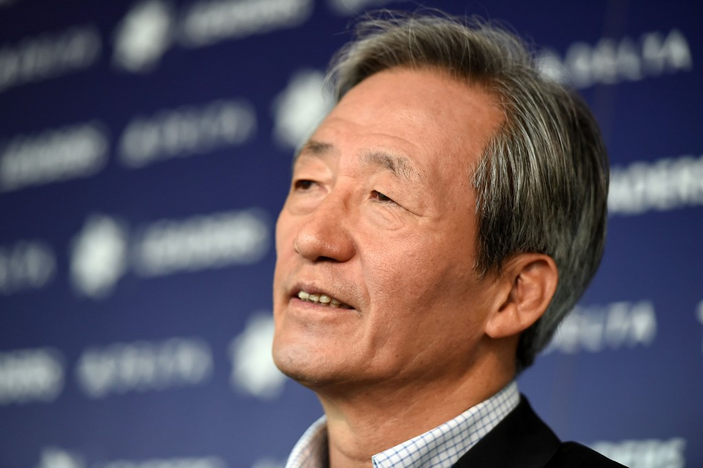 Chung Mong-joon has again hit out at FIFA ©Getty Images