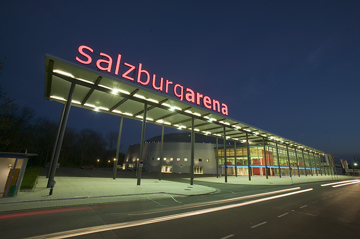 The event is due to be held at the Salzburgarena ®Wikipedia