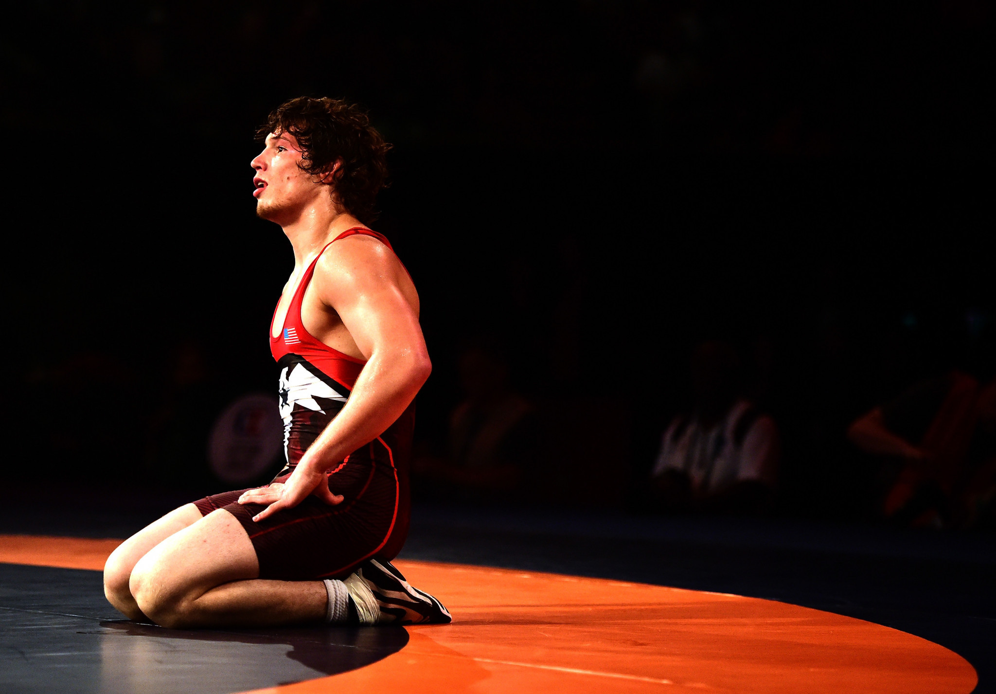 Alex Dieringer of the United States was another to book his place in a final ©Getty Images
