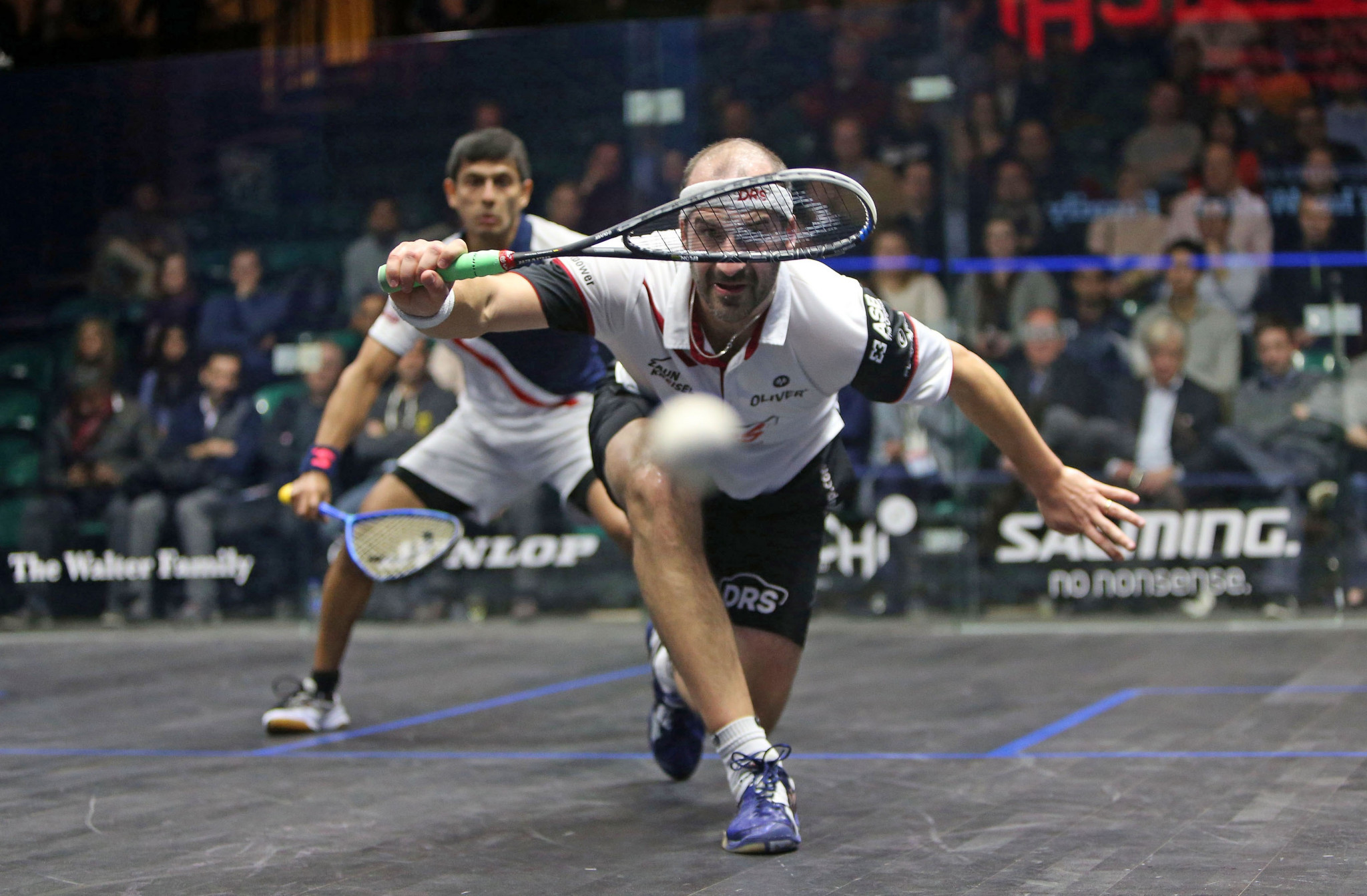 Germany's Simon Rösner progressed to the semi-finals of the PSA World Championships for the first time in his career ©PSA