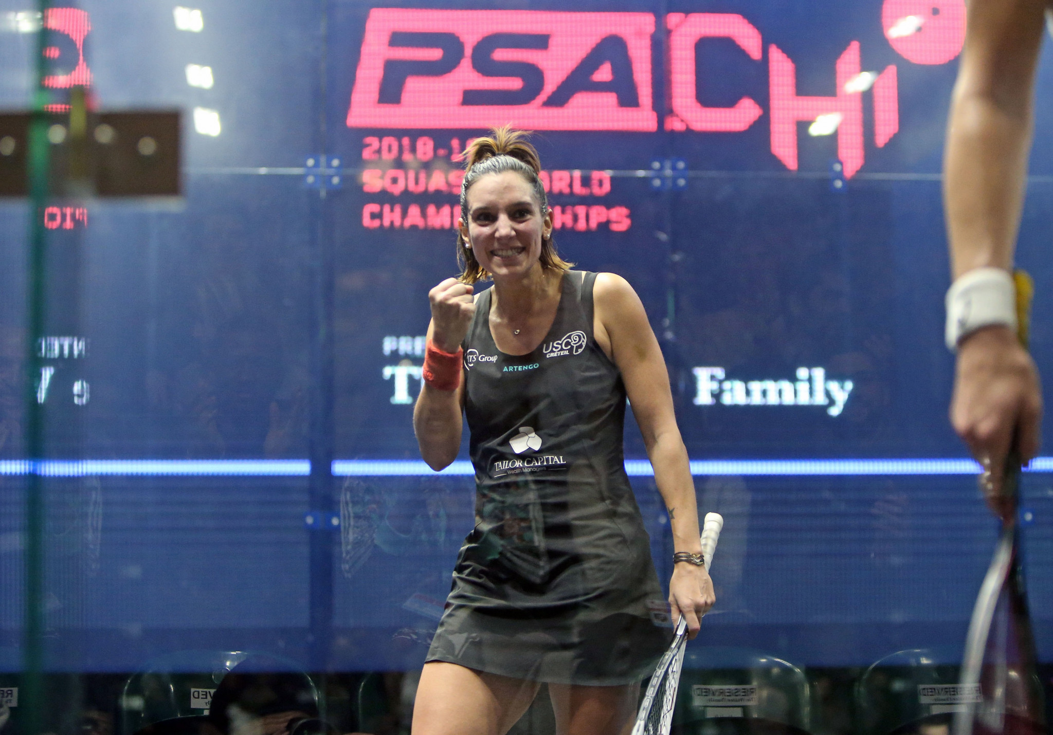 France's Camille Serme reached the women's semi-finals for the fourth time in her career ©PSA