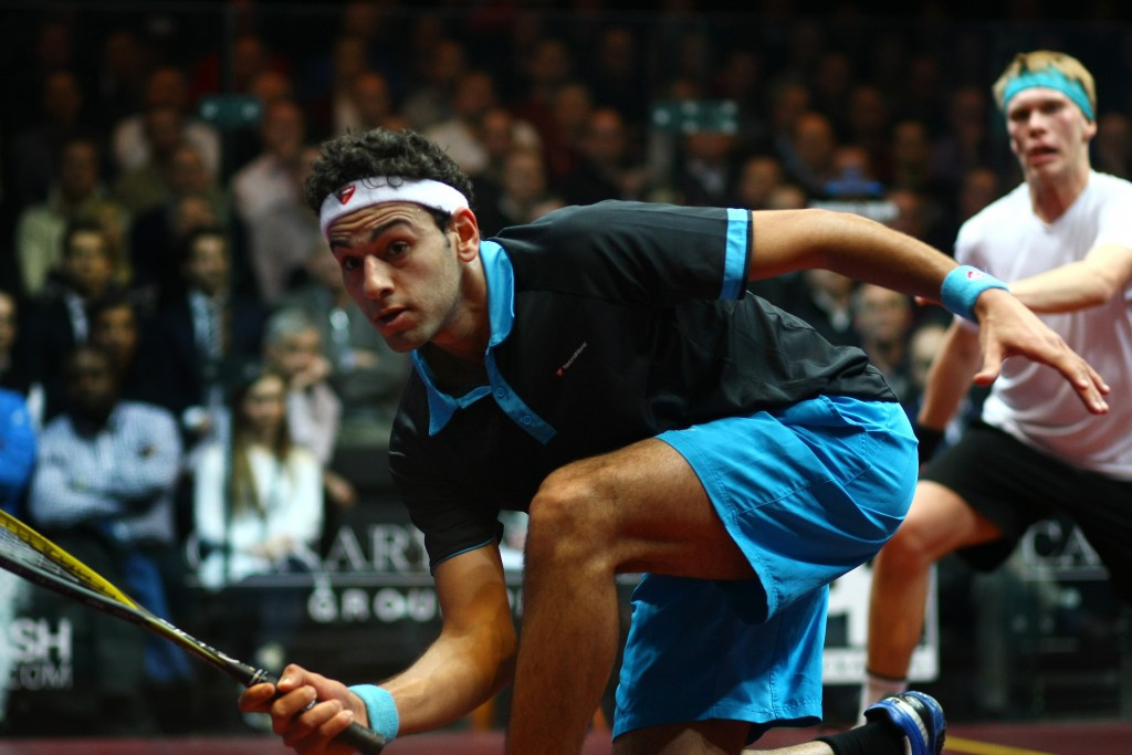Egyptian world number one Mohamed Elshorbagy will face Alfredo Avila in the first round of the PSA Men's World Championship ©Getty Images