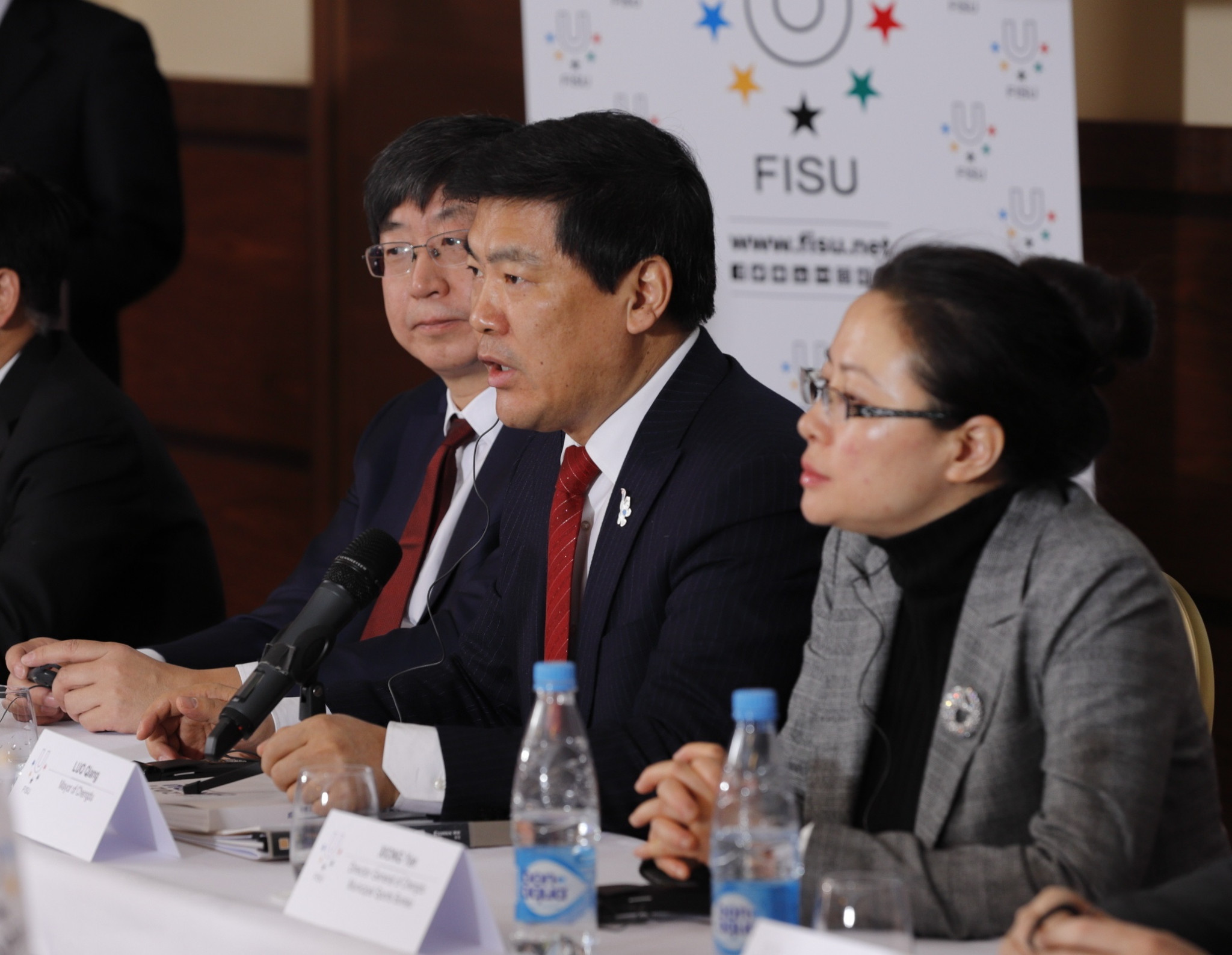 Chengdu Mayor Luo Qiang was present at the FISU Executive Committee ©FISU