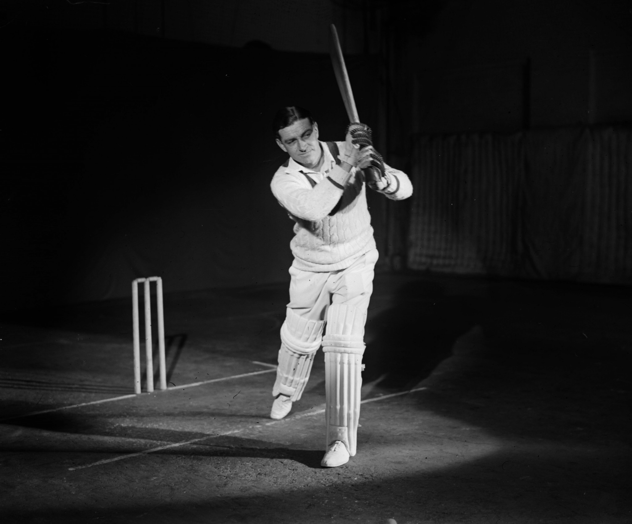 Walter Hammond was among the England players to set sail for South Africa, where a timeless Test match was played ©Getty Images
