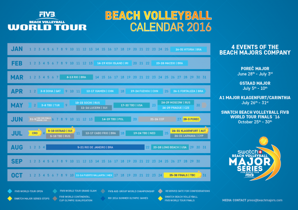 The World Tour Open event on Kish Island is set to be the second event on the FIVB World Tour for 2016 ©FIVB