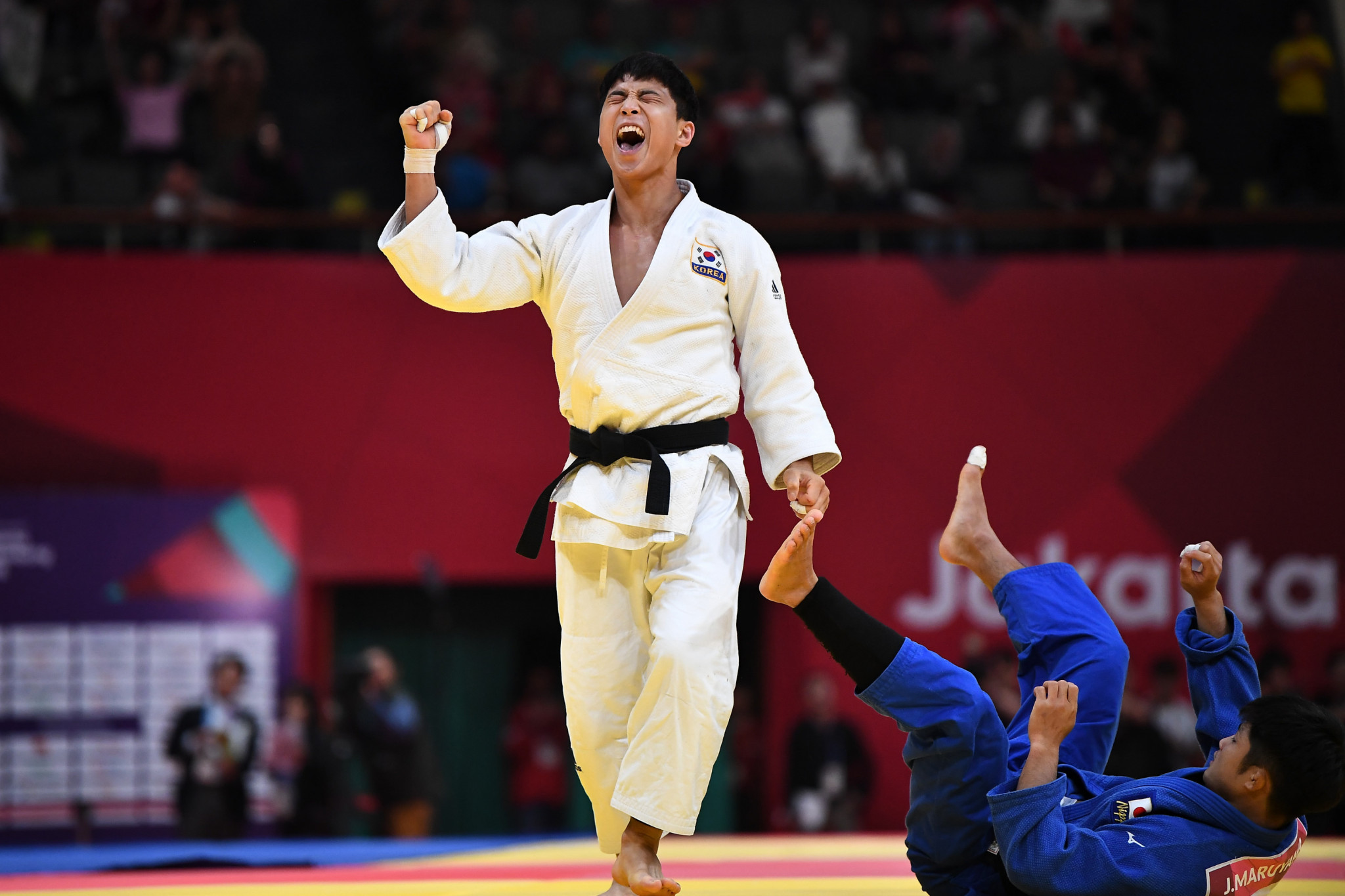 South Korean judoka An Ba-ul has been banned for six months for doctoring his community service records ©Getty Images