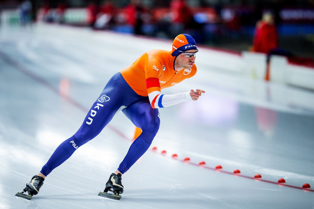 Dutchman Sven Kramer bids for a 10th allround title in Calgary ©ISU
