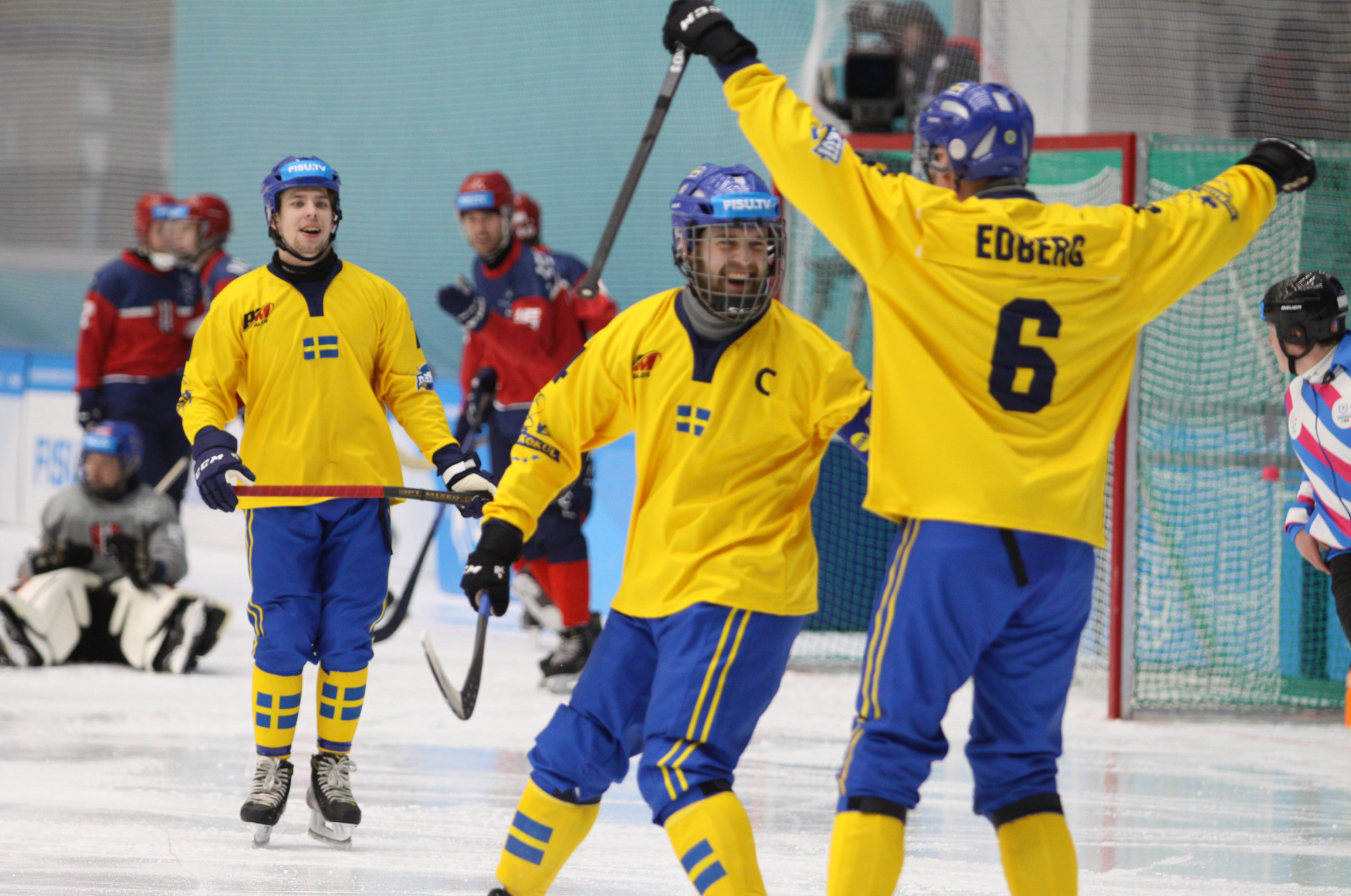 Russia and Sweden thrive as bandy makes Winter Universiade debut