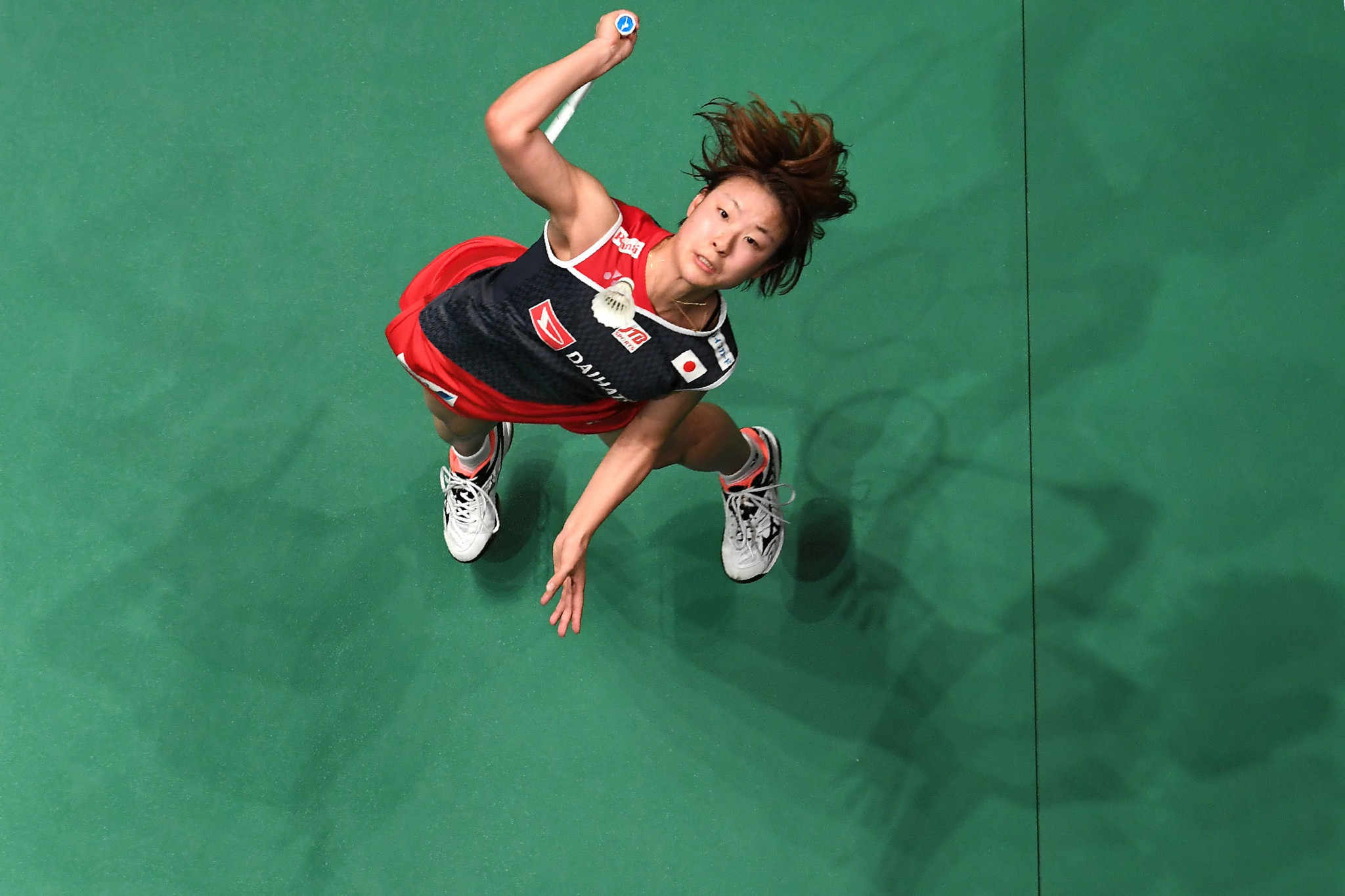 Japan's Nozomi Okuhara remains on course for success in the women's singles event ©Getty Images