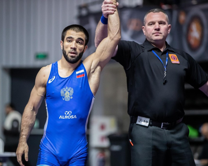 Russia win two golds as finals begin at UWW Dan Kolov-Nikola Petrov tournament