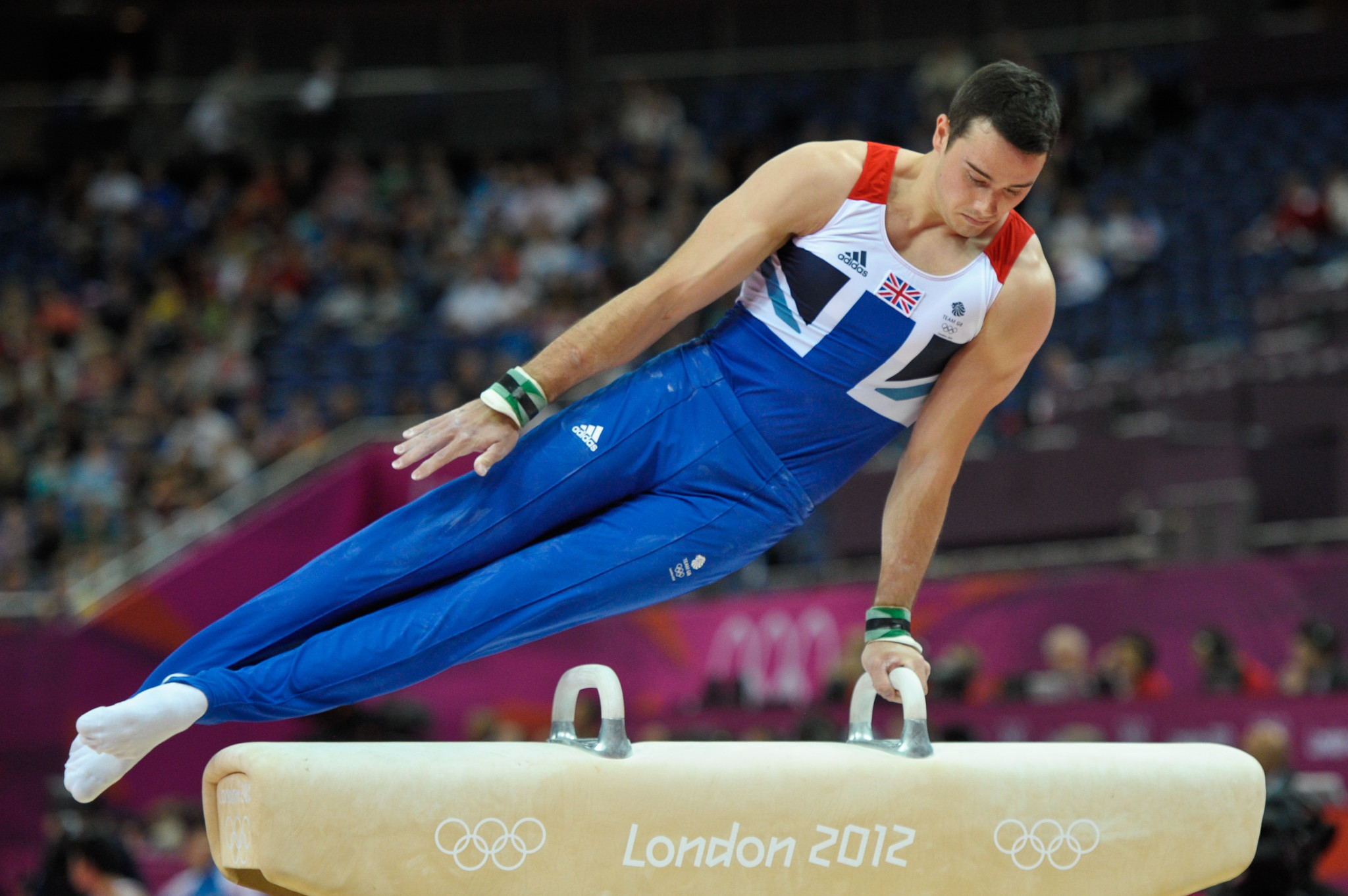 Kristian Thomas won an Olympic bronze medal at London 2012 ©EIS