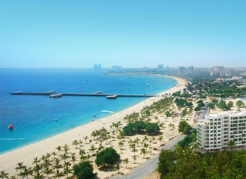 Kish Island off the coast of Iran will host an FIVB World Tour event next February ©beachonmap.com