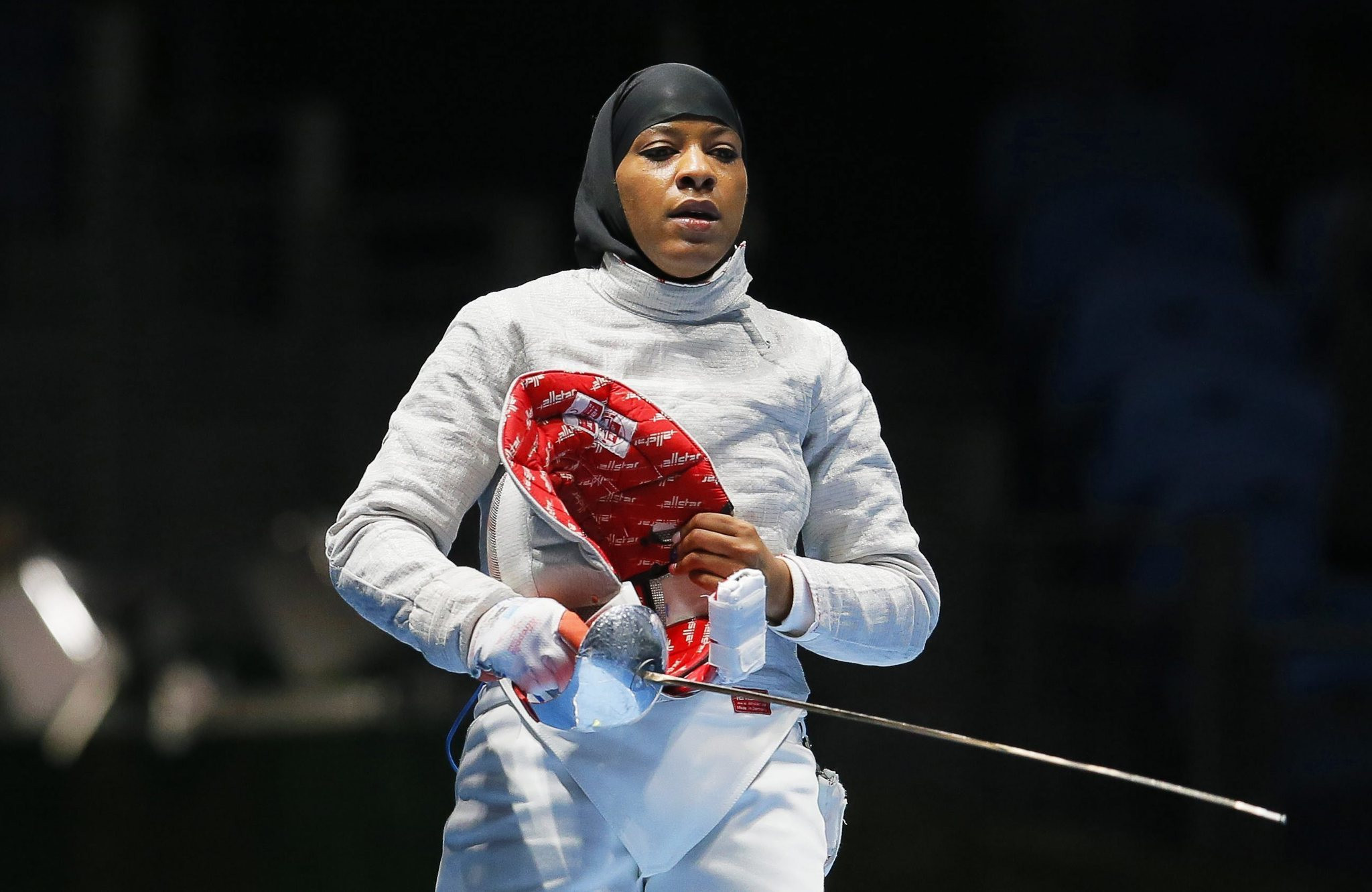 American fencer Ibtihaj Muhammad competed for the United States at the 2016 Olympic Games in Rio de Janeiro while wearing a hijab, something several other Muslim women in the future are set to follow ©Getty Images