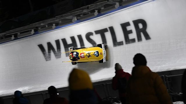 Friedrich leading at halfway stage of two-man bobsleigh event at IBSF World Championships