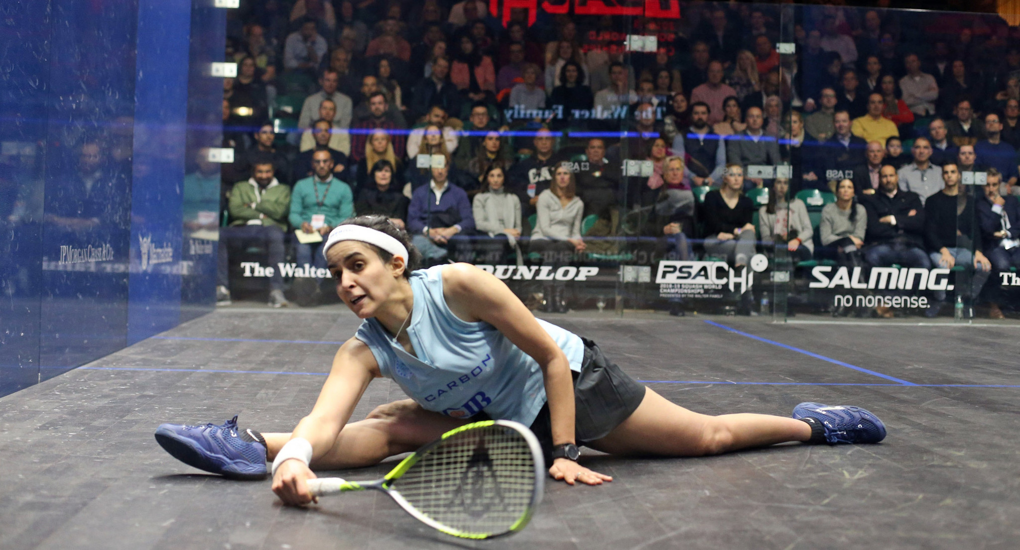 Nour El Tayeb is through to the women's final, where she will face fellow Egyptian Nour El Sherbini ©PSA