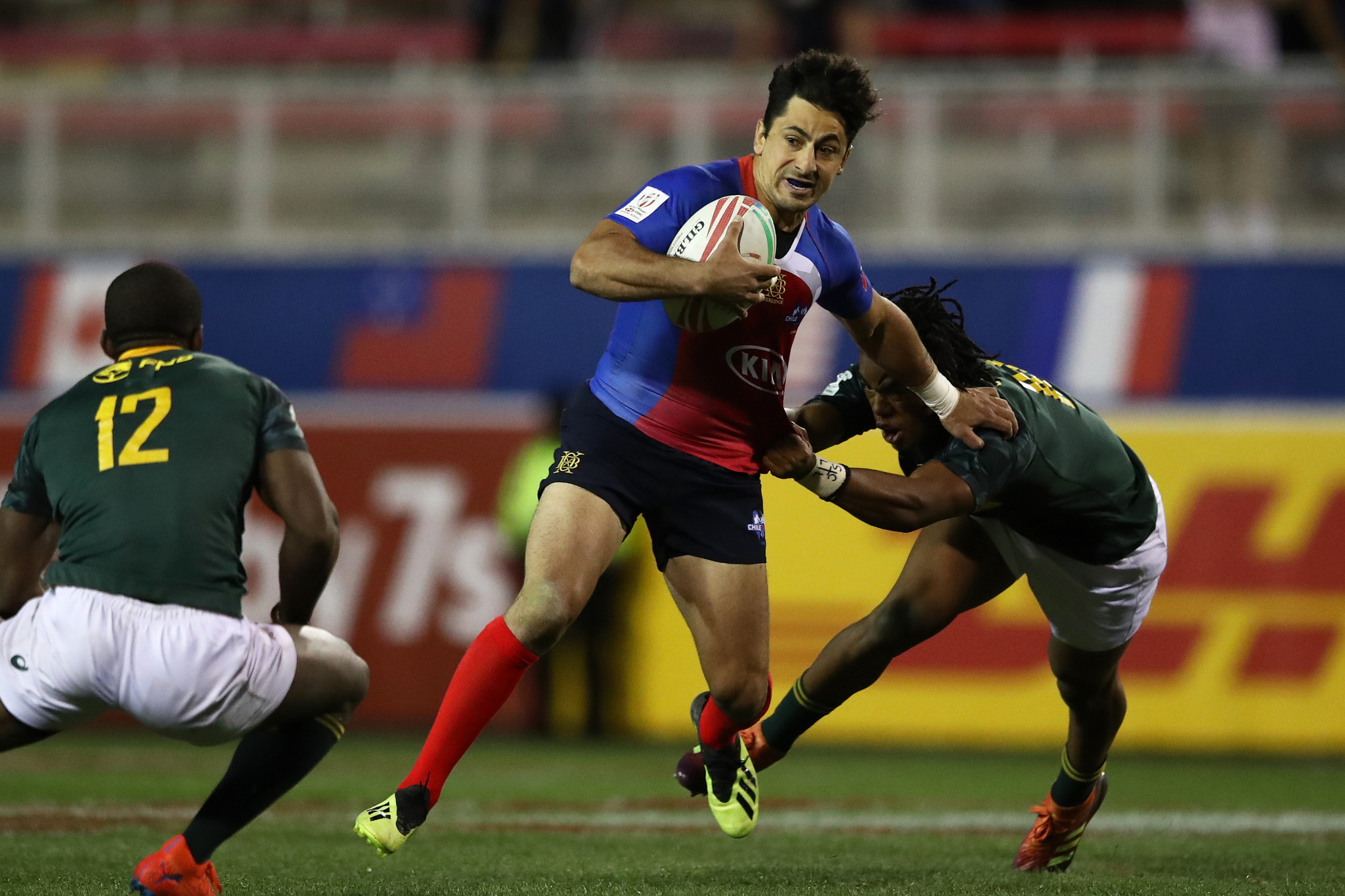 South Africa were held by Chile in a thrilling pool stage encounter ©World Rugby
