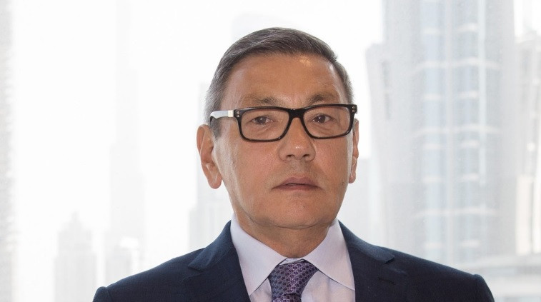 Members of the EUBC Executive Committee gave Gafur Rakhimov their full support as AIBA President ©AIBA