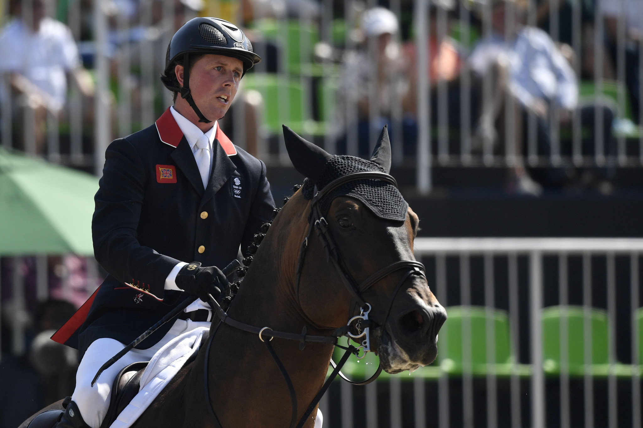 Great Britain's Ben Maher had to settle for second place ©Getty Images