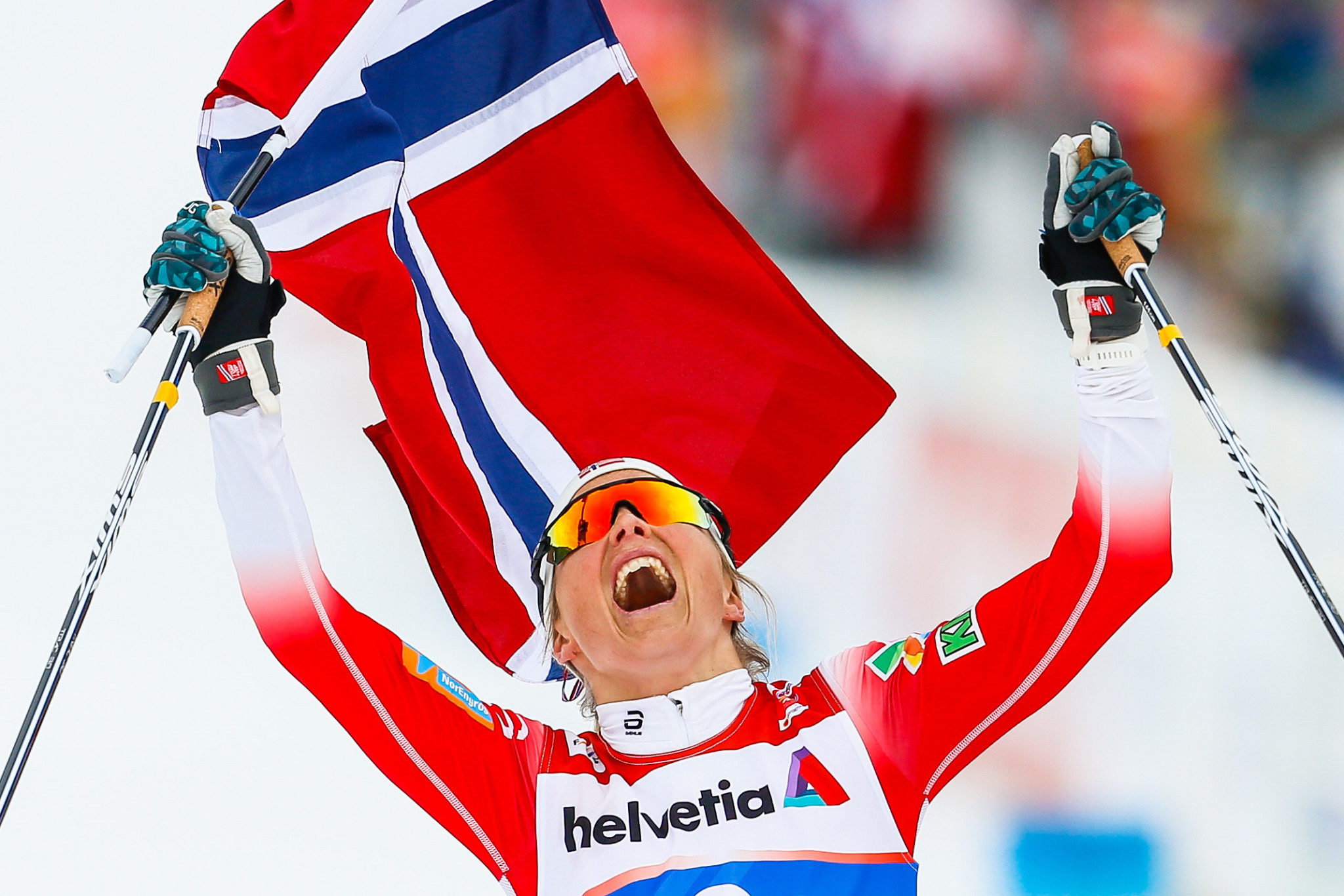 Johaug earns third title on successful day for Norway at FIS Nordic World Ski Championships