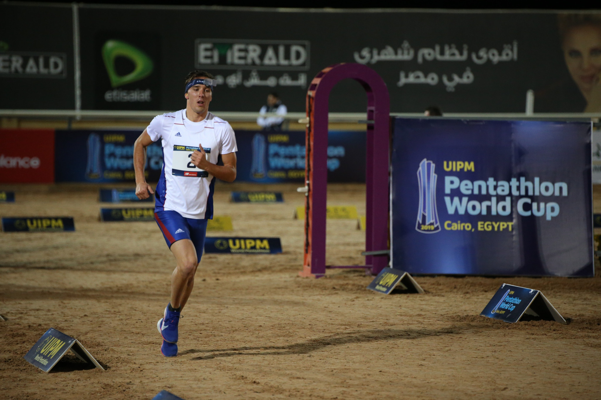 Czech Republic's Jan Kuf finished in the runners-up spot ©UIPM