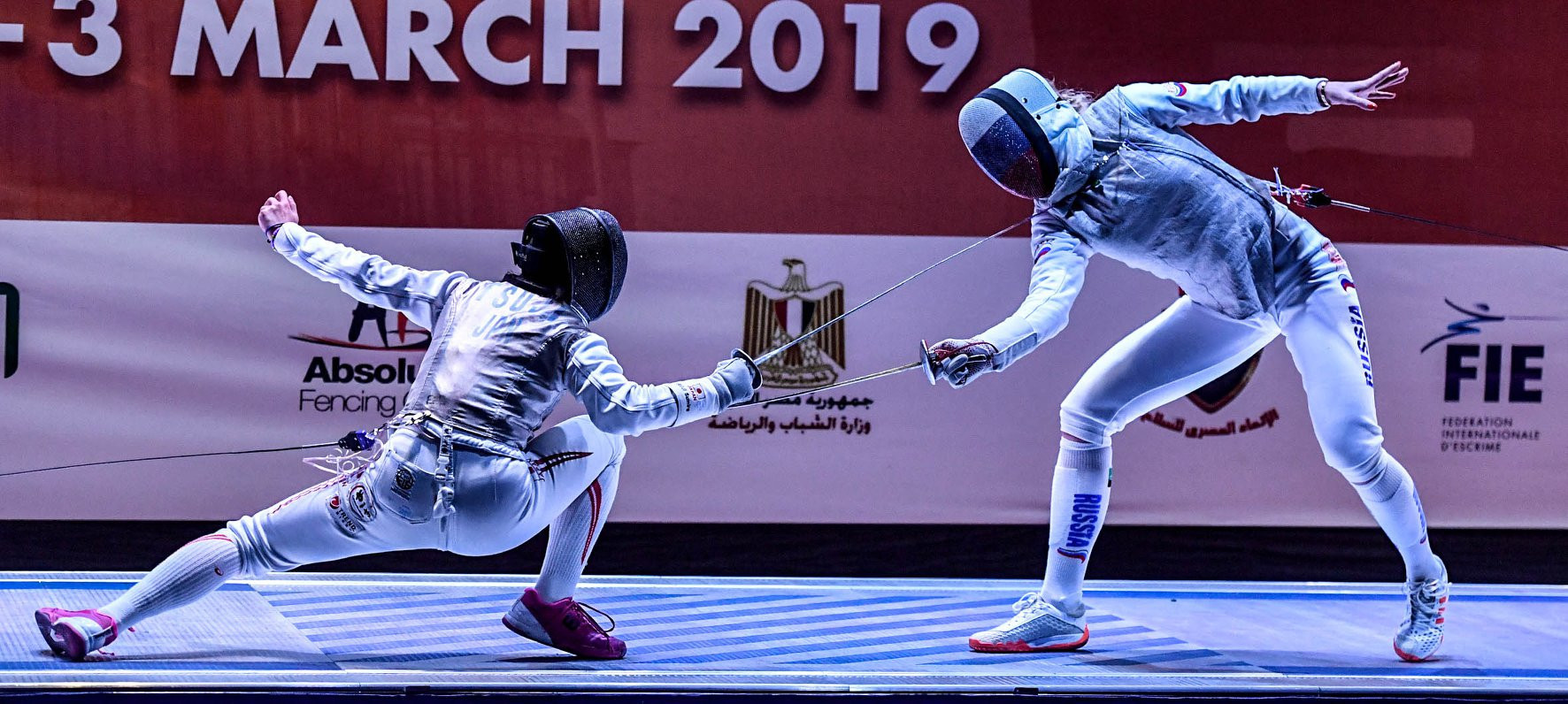 Olympic champion Deriglazova beats world champion Volpi to glory at FIE Women's Foil World Cup