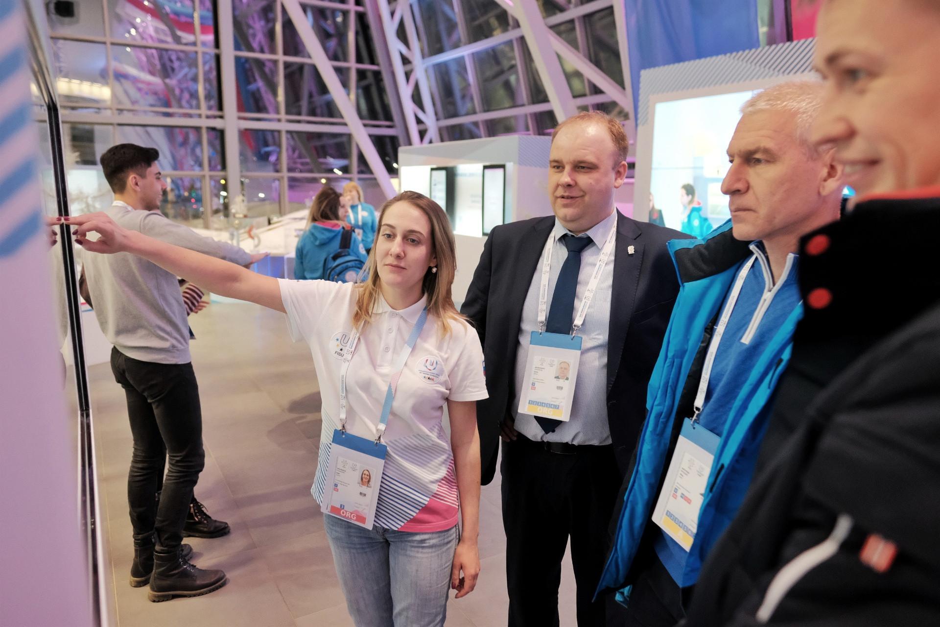 FISU President, Oleg Matytsin said he thought the museum was