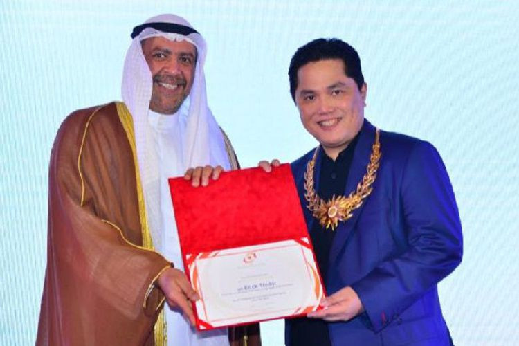Olympic Council of Asia give Merit Award to Thohir after success of Jakarta-Palembang 2018