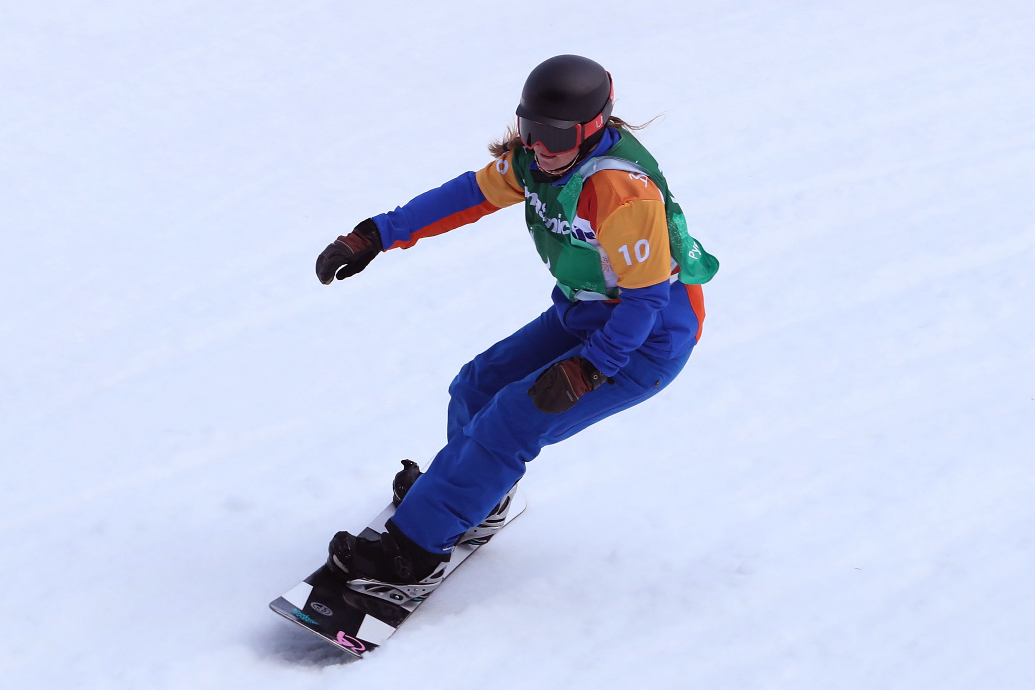 Home favourite Fina Paredes eyeing success at World Para Snowboard World Cup in La Molina