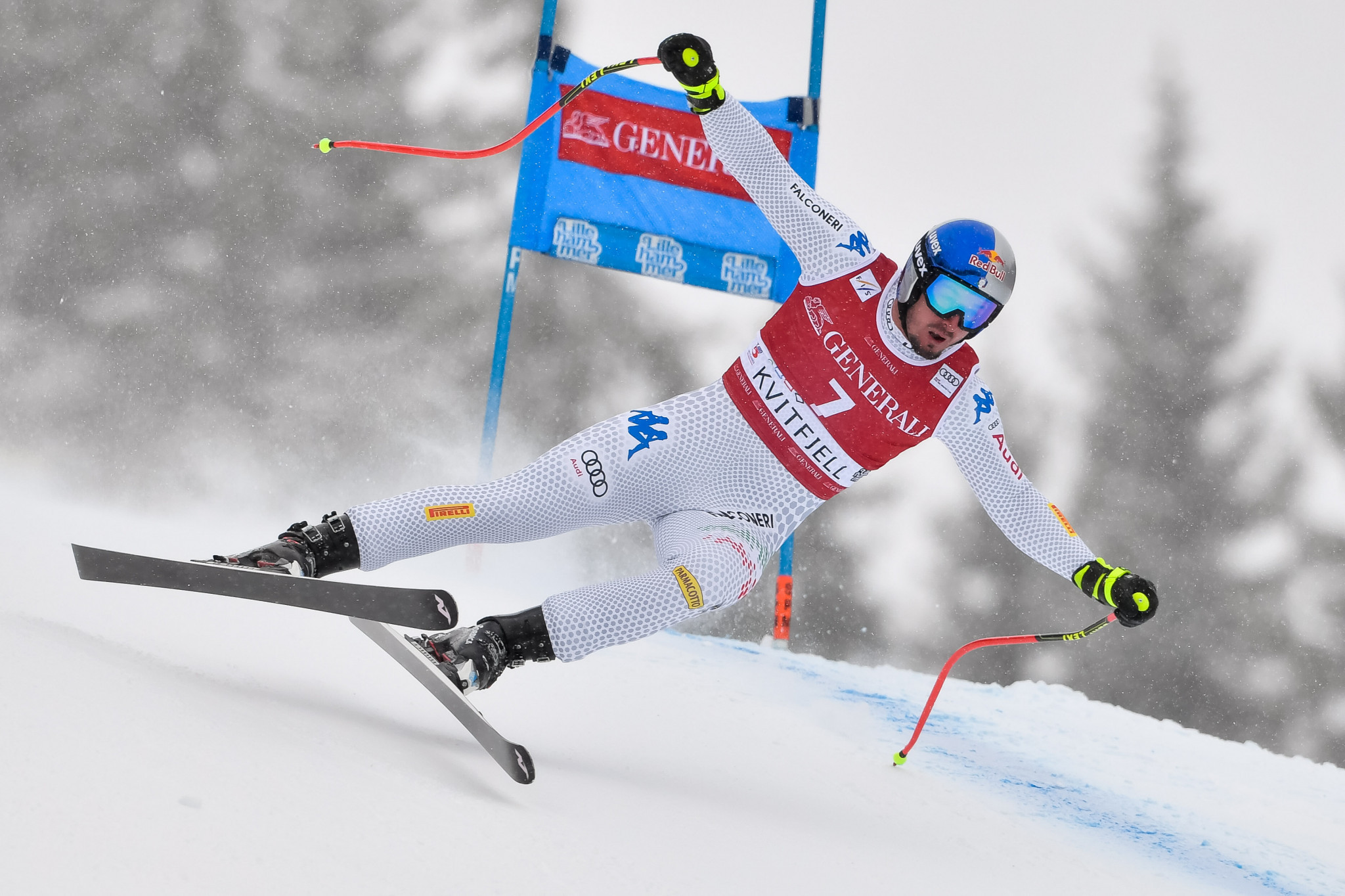 Paris takes overall super-G lead with second victory at FIS Alpine Skiing World Cup in Kvitfjell