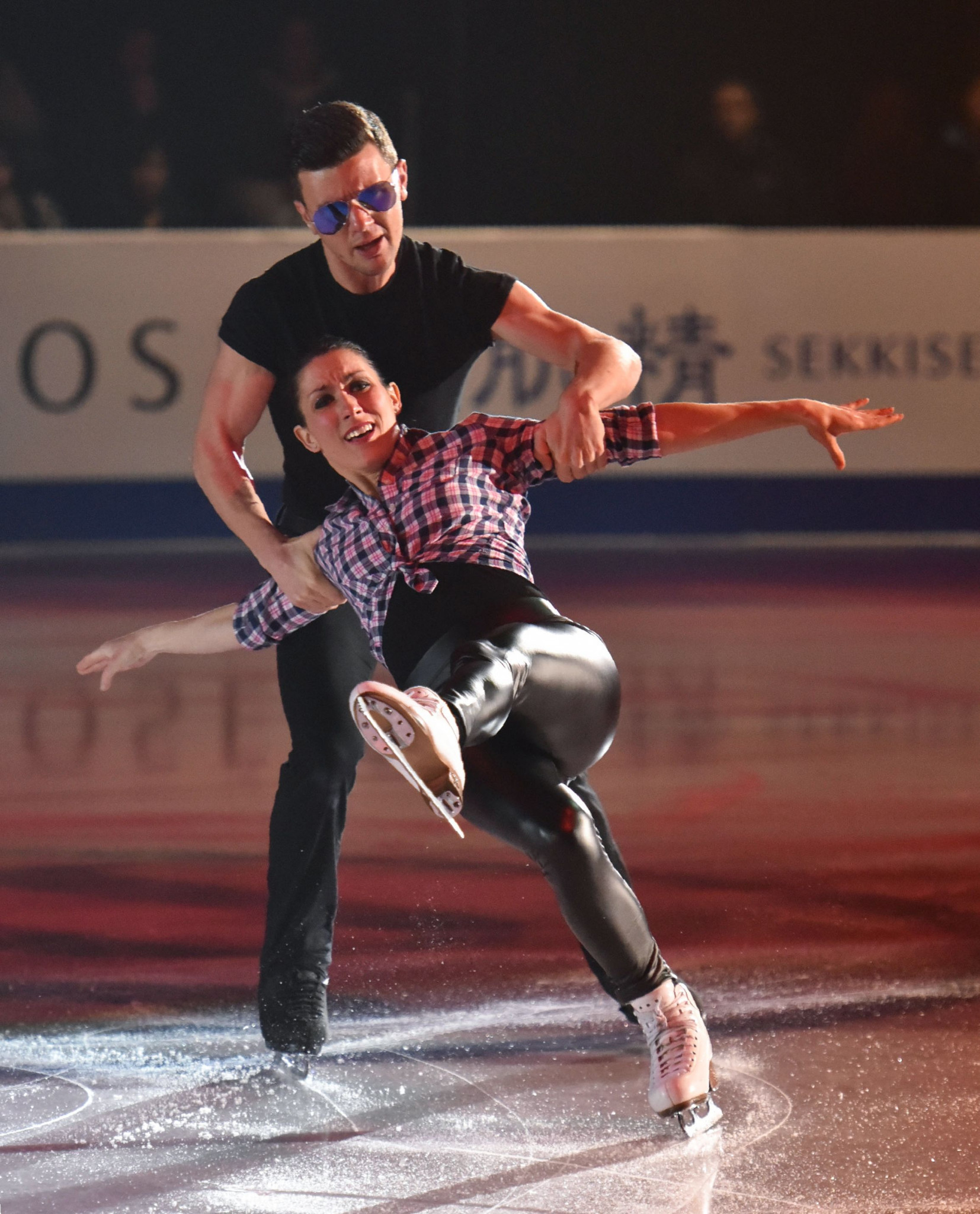 Russia's Anastasia Mishina and Aleksandr Galiamov will be strong contenders in the pairs event ©Getty Images