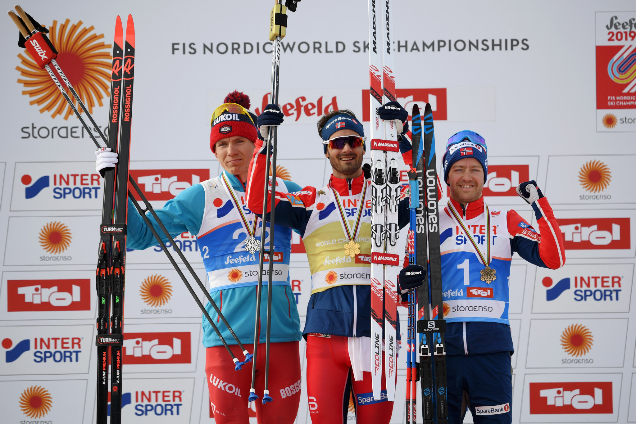 The Norwegian overcame a strong field to secure his first world title ©Getty Images