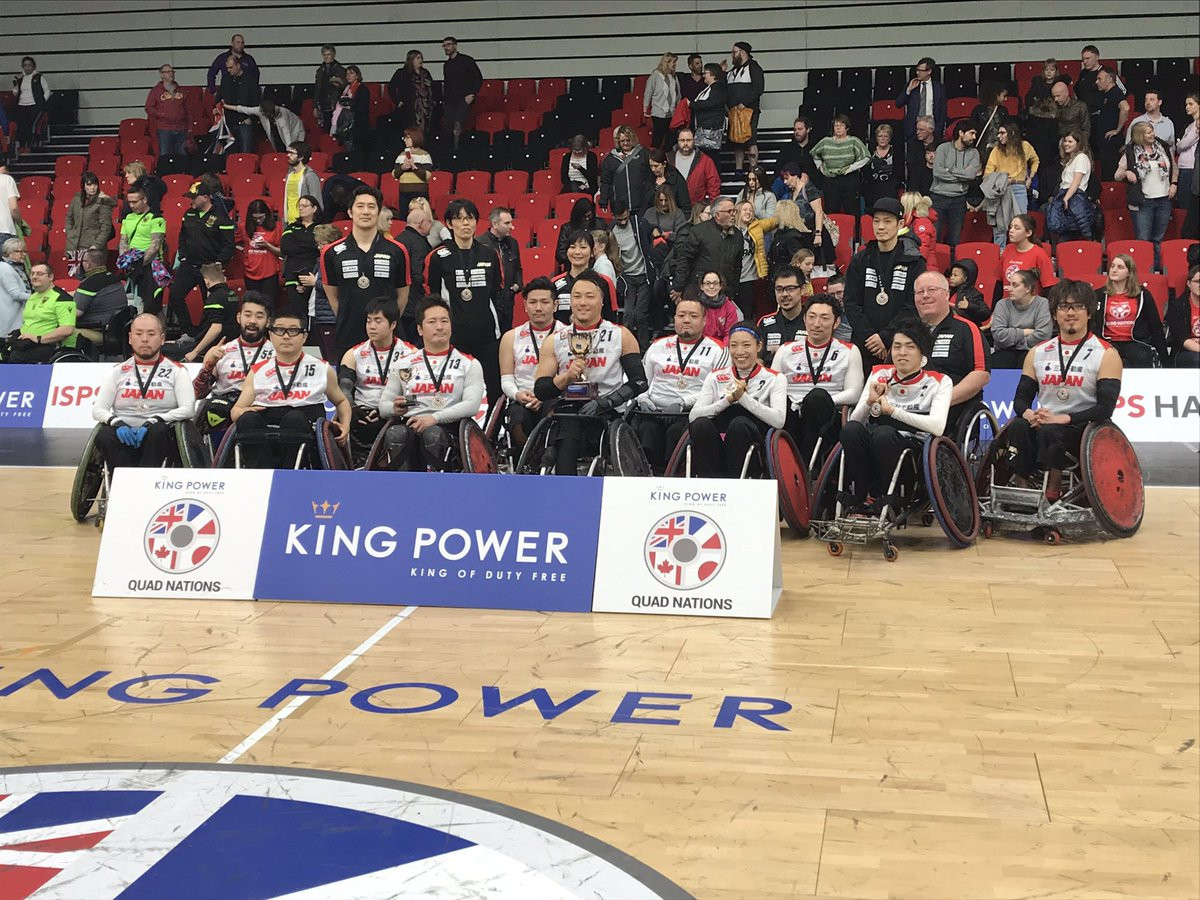 World champions Japan edge hosts Britain to win Wheelchair Rugby Quad Nations