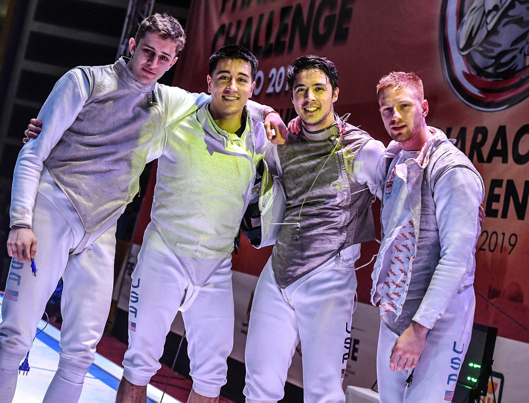 United States claim team title as FIE Men's Foil World Cup in Cairo concludes