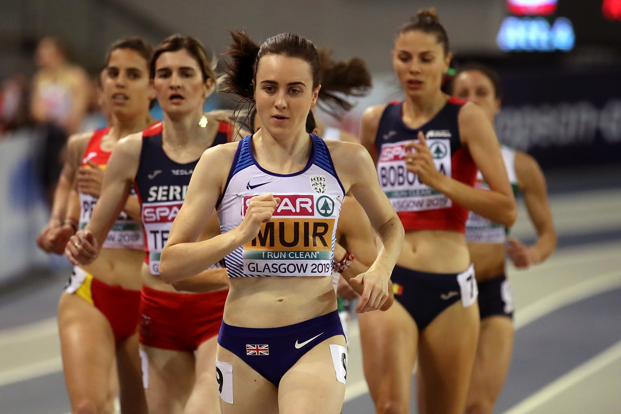 "Local heroine Muir completes ""double double"" at European Athletics Indoor Championships"