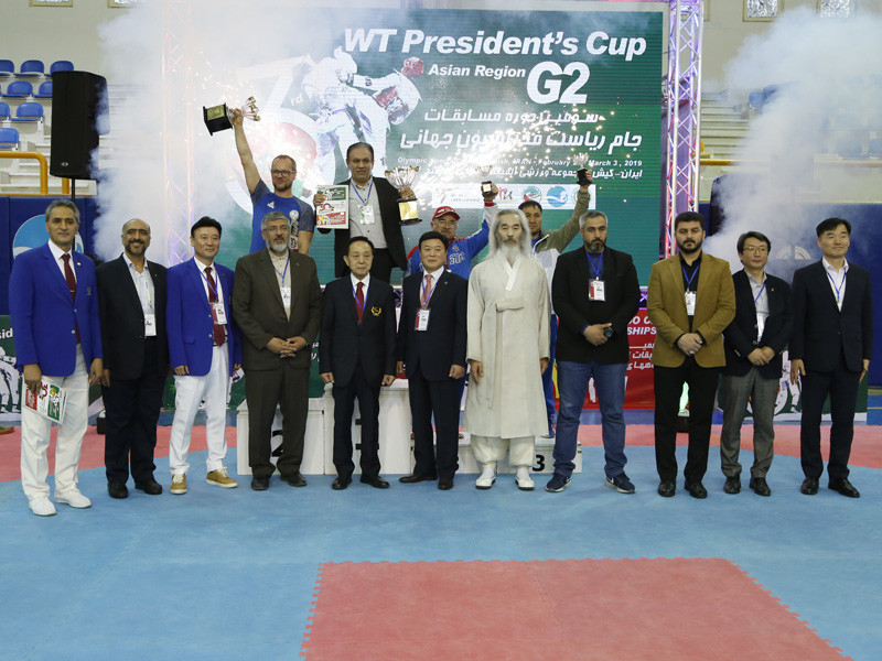 Iran lead way again at World Taekwondo President's Cup for Asia region