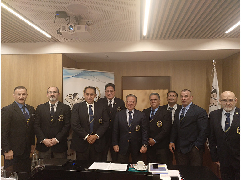 Fitness and bodybuilding officials from the Americas gather for meeting in Madrid