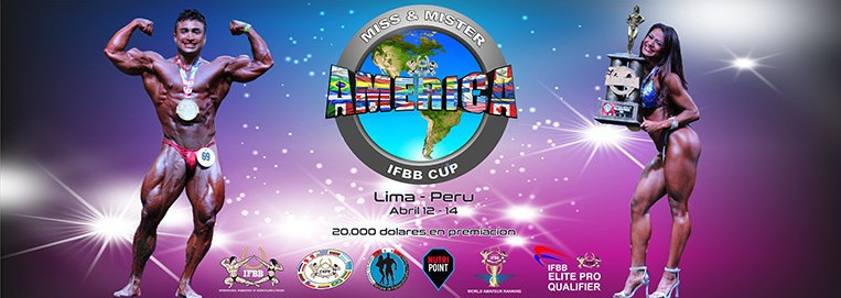 Lima will host the Miss & Mister IFBB Cup before the sports appear at the Pan American Games in Peru's capital ©IFBB