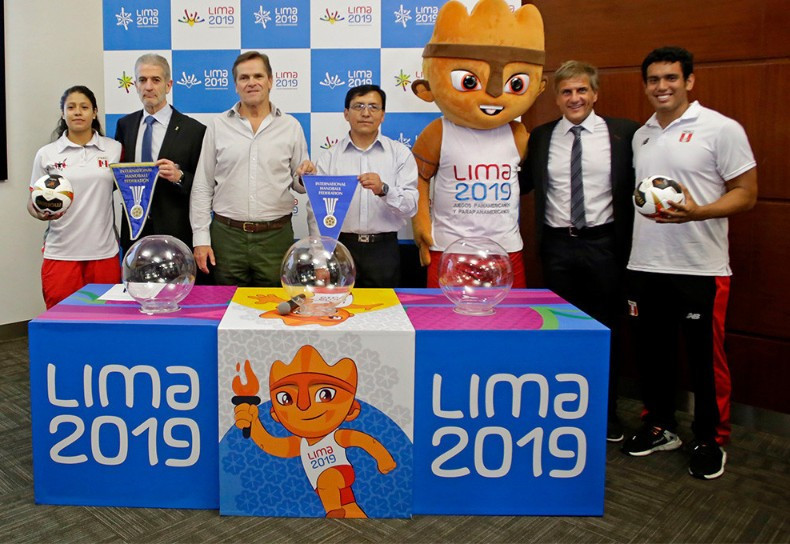 Draw made for Lima 2019 handball tournaments