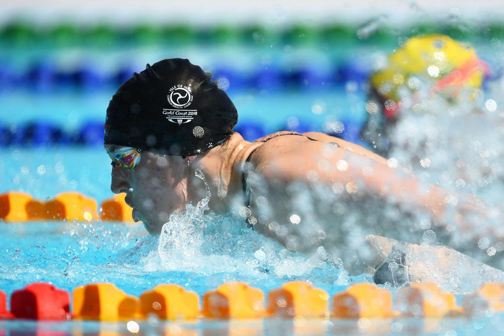 Swimmer Charlotte Atkinson is one of eight nominees for the Sportswoman of the Year award ©Getty Images